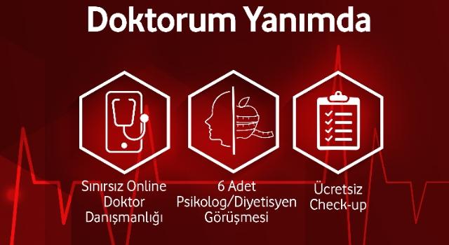 """VODAFONE SİGORTA'DAN DİJİTAL SAĞLIK DANIŞMANLIĞI ÜRÜNÜ: """"DOKTORUM YANIMDA"""""""