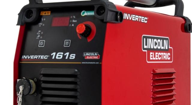 Lincoln Electric Türkiye'den sağlam, çok yönlü ve kullanımı kolay yeni kaynak makinesi: INVERTEC 161S