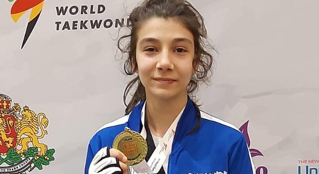 Türk Telekom'un yıldız tekvandocusu Avrupa Şampiyonu