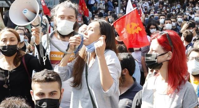 Yasaklamalara boyun eğmeyenler Beşiktaş'ta buluştu