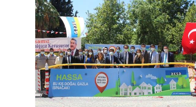 Hassa'ya doğal gaz müjdesi