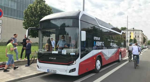 Otokar'ın elektrikli otobüsü Münih'te