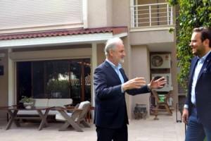 İTSO Başkanı Yılmaz, İç Mimar Çağrı Aytaş'ı Ziyaret Etti