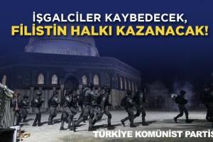 Türkiye Komünist Partisi İsrail'in Filistin'e gerçekleştirdiği saldırılara karşı açıklama yaptı.