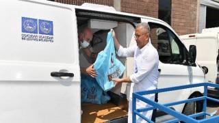 Üsküdar'da 5 binden fazla aileye 30 ton kurban eti dağıtıldı