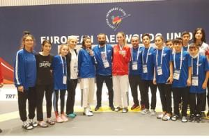Türk Telekom'un millî tekvandocularına 6. WT Başkanlık Kupası'ndan dört kupa