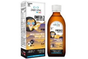"""Zade Vital Miniza Omega 3 Çörek Otlu ile Çocuklara Kışın da """"Tam Destek"""""""